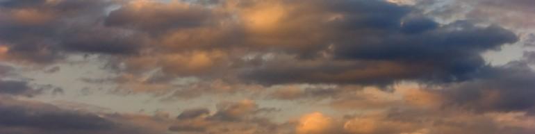Clouds broken 6