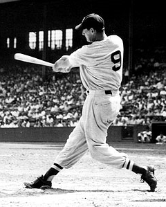 Ted Williams batter