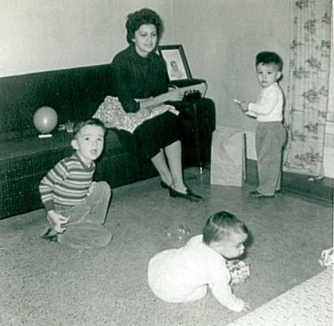 Welch family 1961